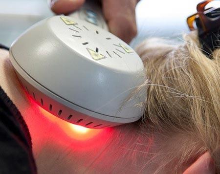 لیزر درمانی سطح پایین گردن