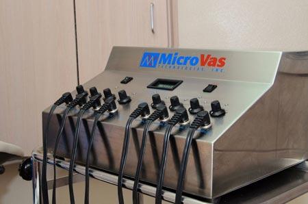 میکرو واس (Micro-Vas) تراپی گردن
